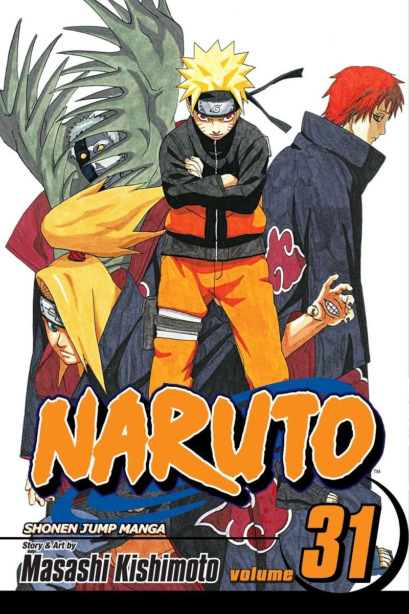 Naruto Manga Volume 31