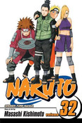 Naruto Manga Volume 32