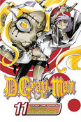 D.Gray-man Manga Volume 11