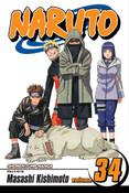 Naruto Manga Volume 34
