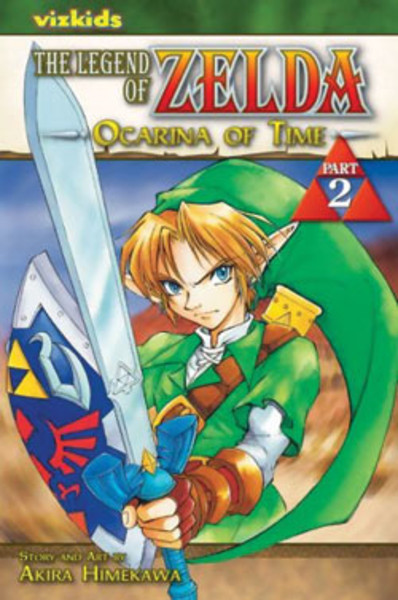 Legend Of Zelda Manga 2 Ocarina Of Time Part 2