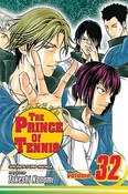 Prince of Tennis Manga Volume 32