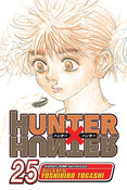 Hunter X Hunter Manga Volume 25