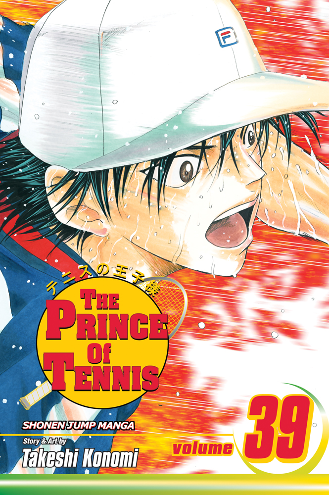 Prince of Tennis Manga Volume 39