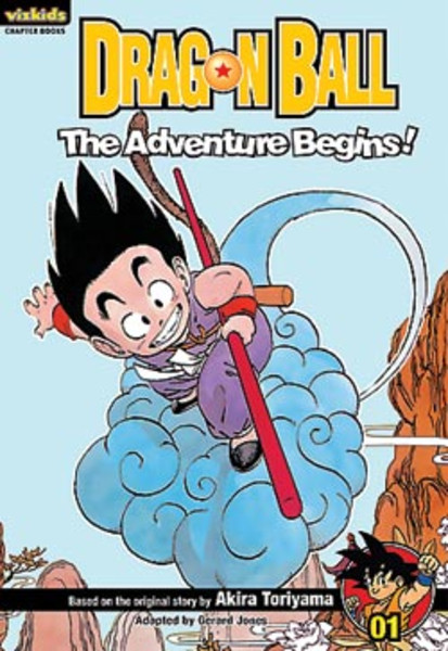 Dragon Ball Chapter Book Volume 1 The Adventure Begins!