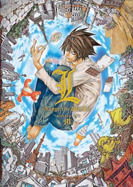 Death Note L Change the World Novel