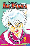 Inu Yasha 3 in 1 Edition Manga Volume 2