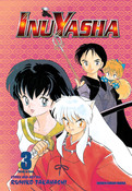 Inu Yasha 3 in 1 Edition Manga Volume 3