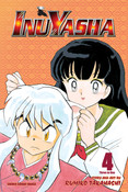 Inu Yasha 3 in 1 Edition Manga Volume 4