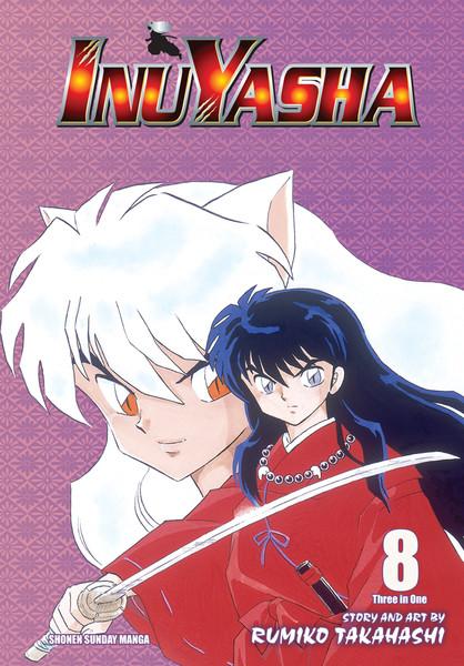 Inu Yasha 3 in 1 Edition Manga Volume 8