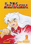 Inu Yasha 3 in 1 Edition Manga Volume 9