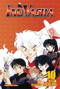 Inu Yasha 3 in 1 Edition Manga Volume 10