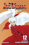 Inu Yasha 3 in 1 Edition Manga Volume 12
