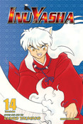 Inu Yasha 3 in 1 Edition Manga Volume 14