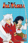 Inu Yasha 3 in 1 Edition Manga Volume 18