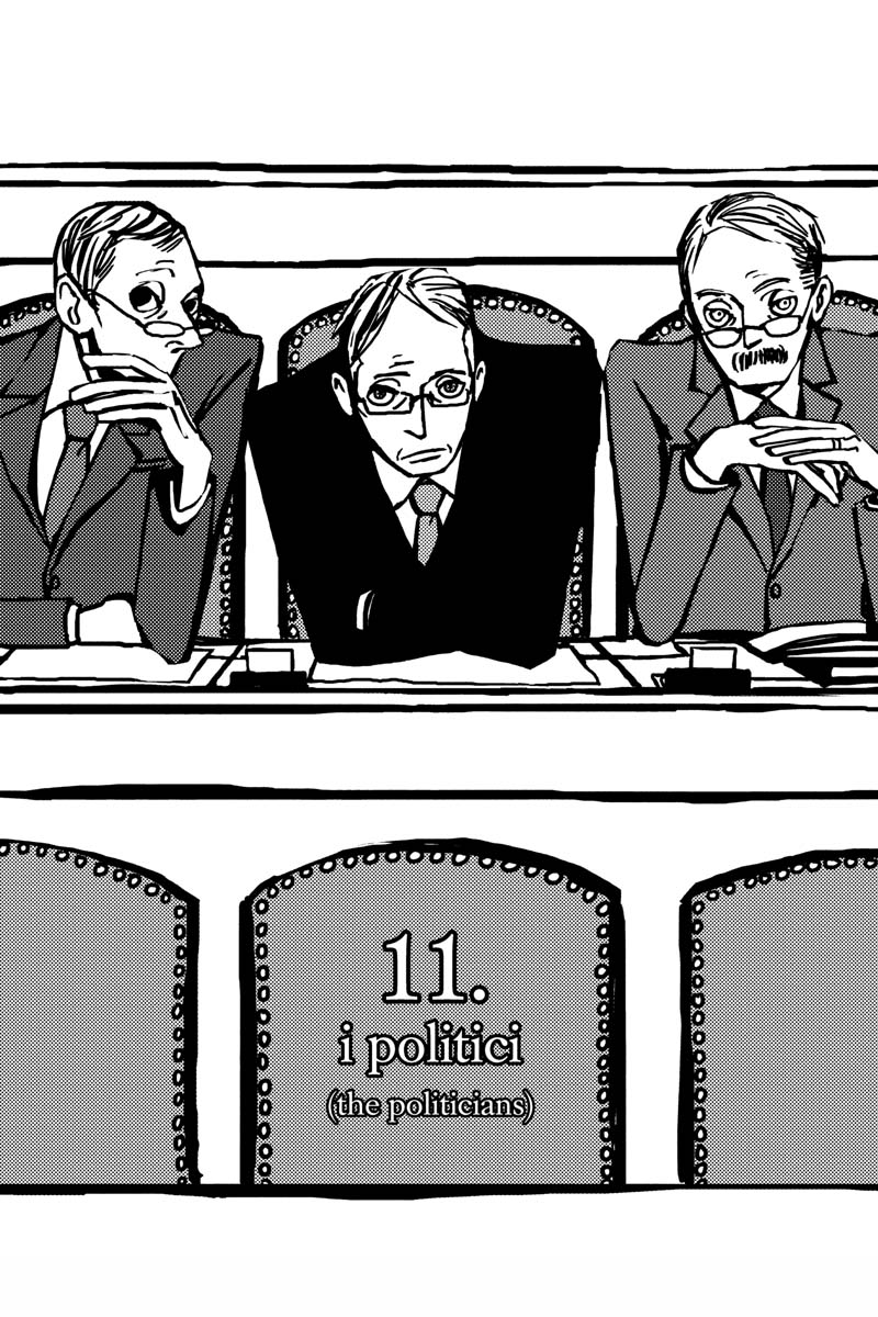 Gente Manga Volume 3