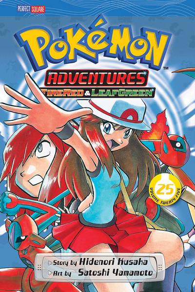 Pokemon Adventures Manga Volume 25