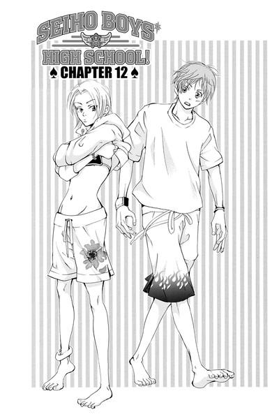 Seiho Boys' High School Manga Volume 4