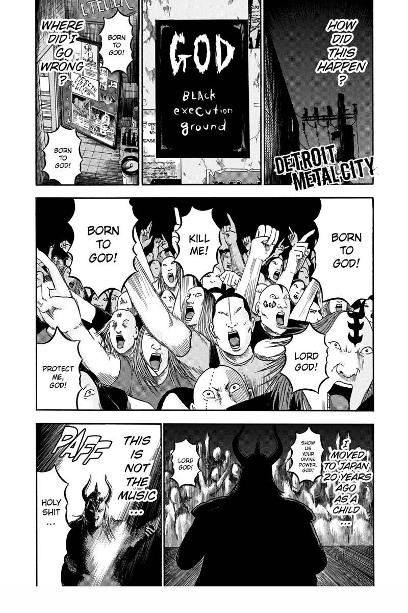 Detroit Metal City Manga Volume 10