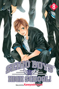 Seiho Boys' High School Manga Volume 8