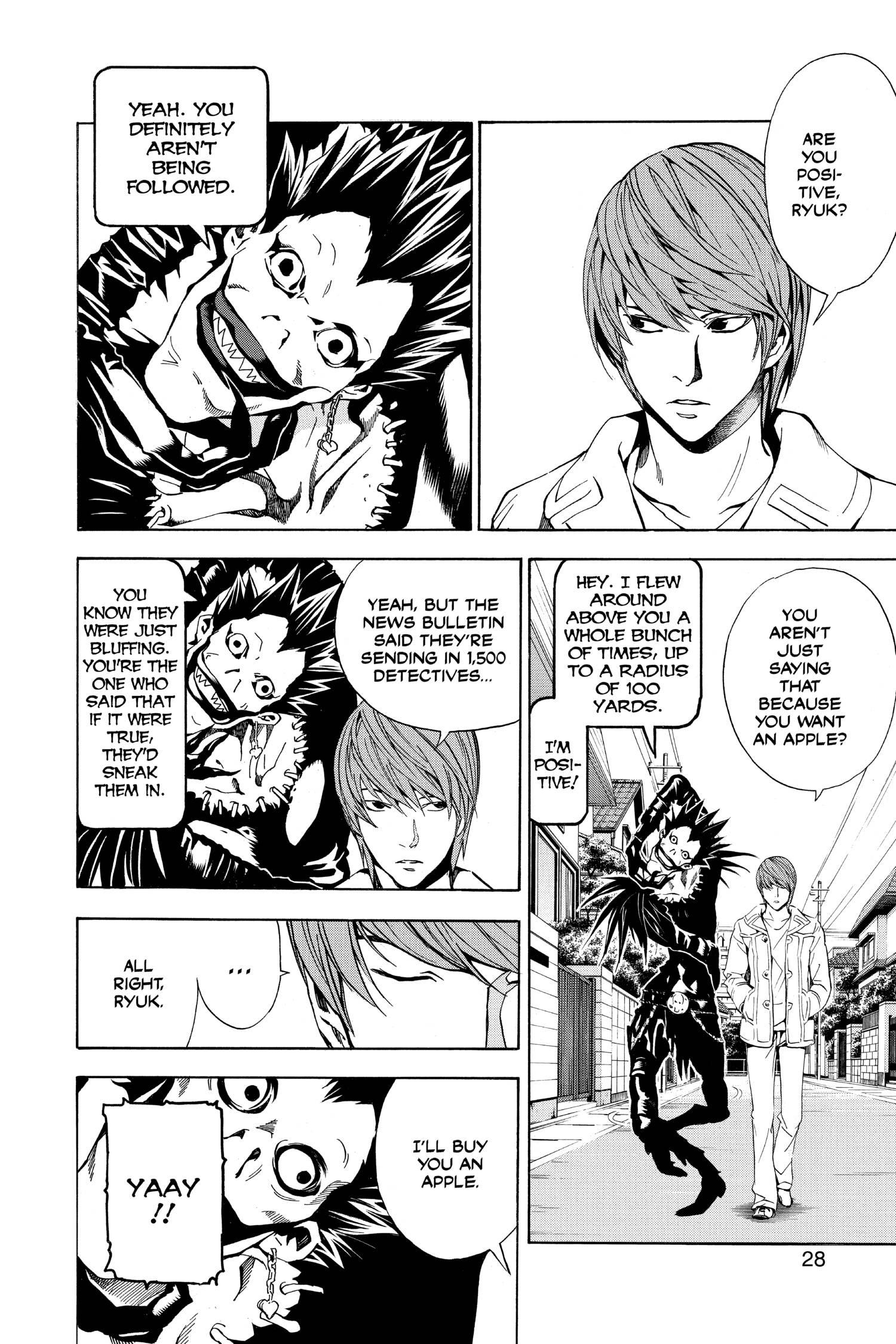 Death Note Black Edition Manga Volume 2