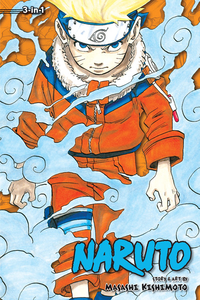 Naruto 3 in 1 Edition Manga Volume 1