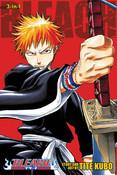 Bleach 3 In 1 Edition Manga Volume 1