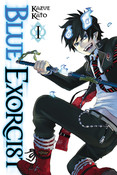 Blue Exorcist Manga Volume 1
