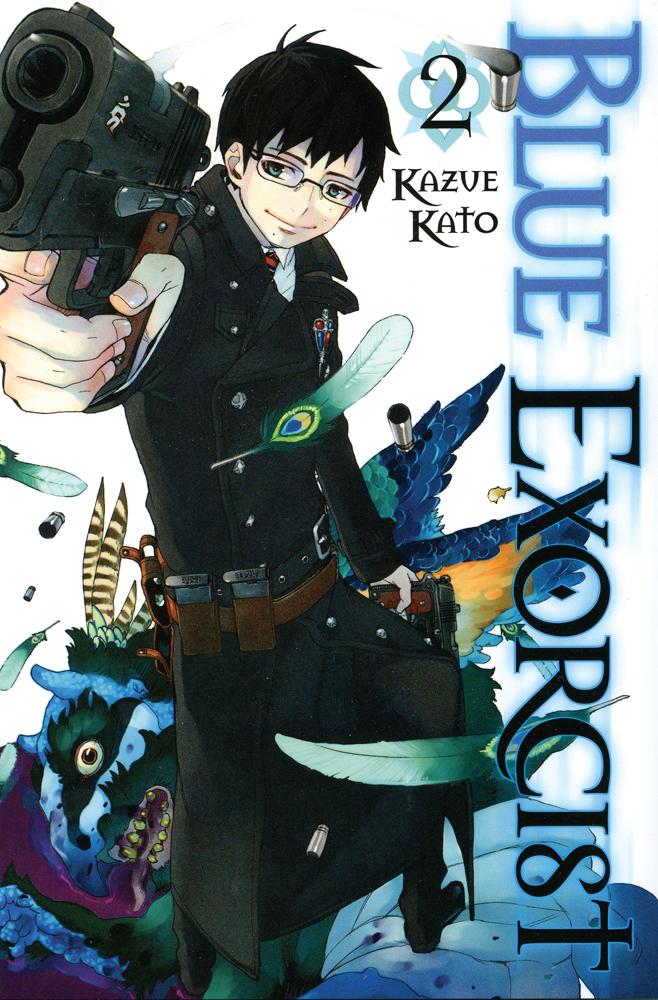 Blue Exorcist Manga Volume 2