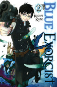 Blue Exorcist Manga Volume 2