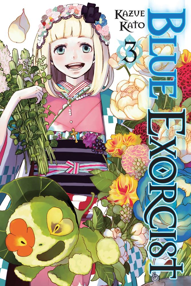 Blue Exorcist Manga Volume 3