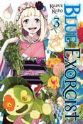 Blue Exorcist Manga Volume 3