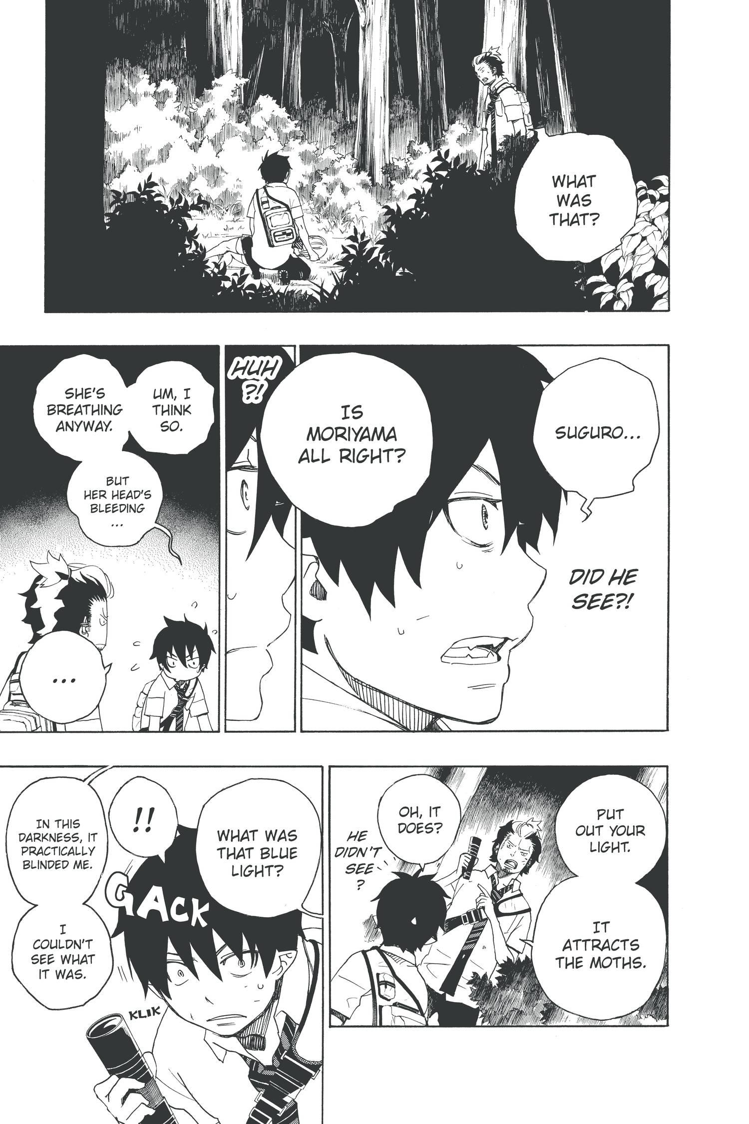 Blue Exorcist Manga Volume 4