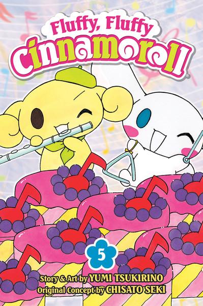 Fluffy, Fluffy Cinnamoroll Manga Volume 5