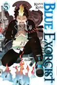 Blue Exorcist Manga Volume 5