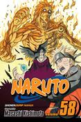 Naruto Manga Volume 58