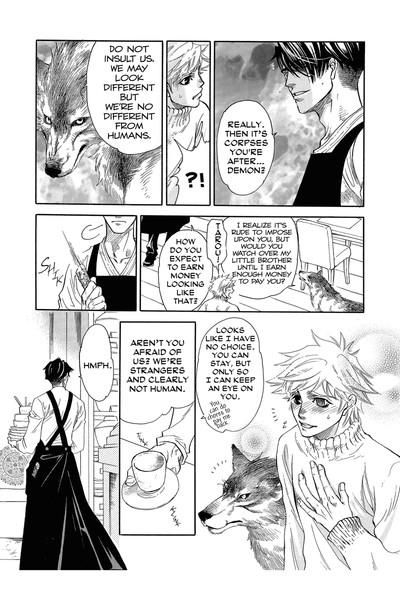 Three Wolves Mountain Manga