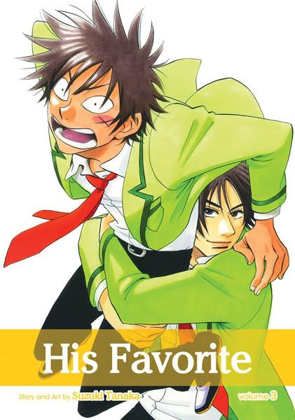 His Favorite Manga Volume 3
