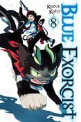 Blue Exorcist Manga Volume 8