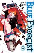 Blue Exorcist Manga Volume 9