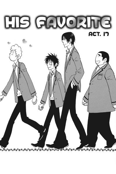 His Favorite Manga Volume 5