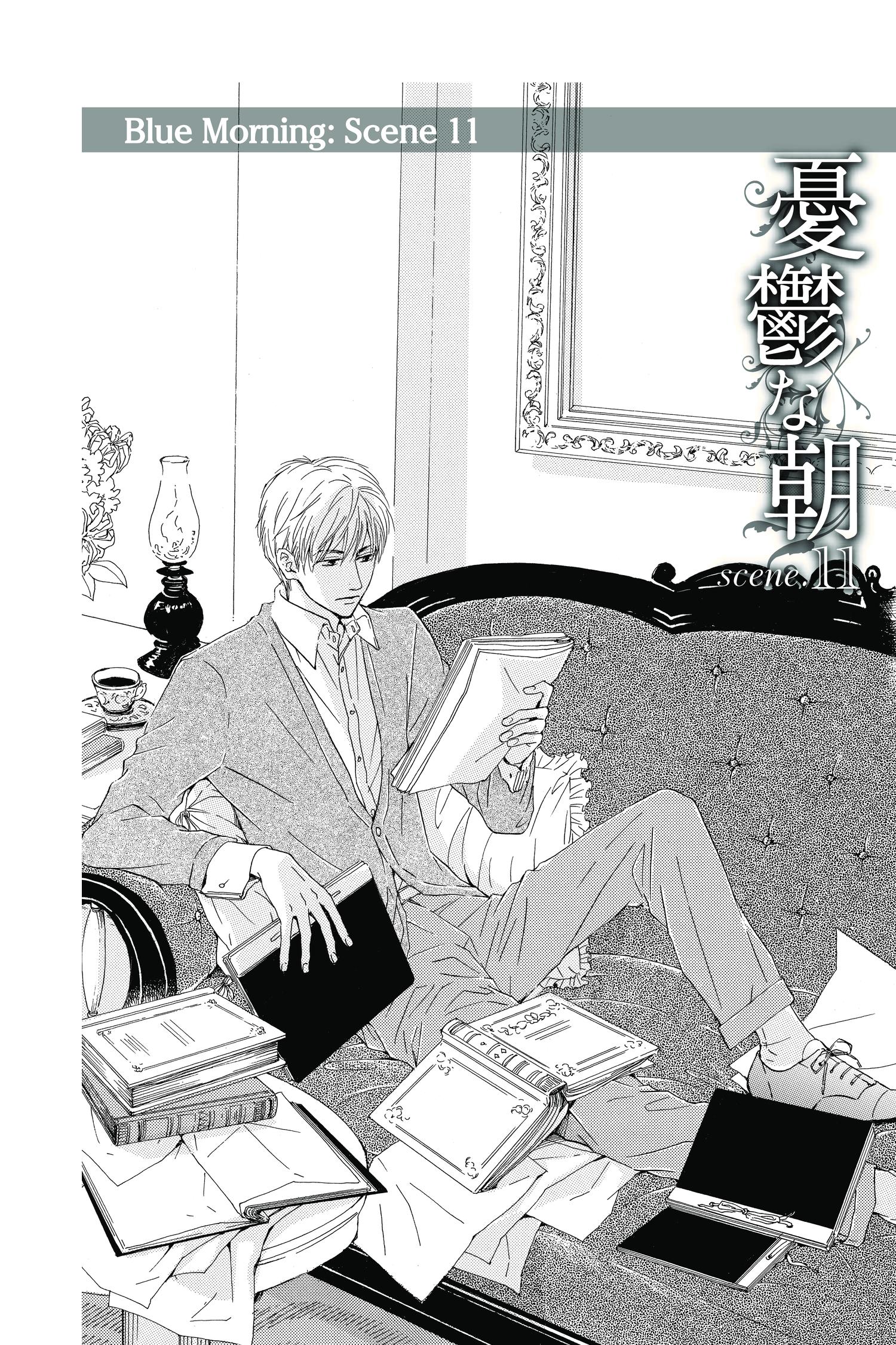 Blue Morning Manga Volume 3
