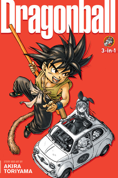 Dragon Ball 3 in 1 Edition Manga Volume 1