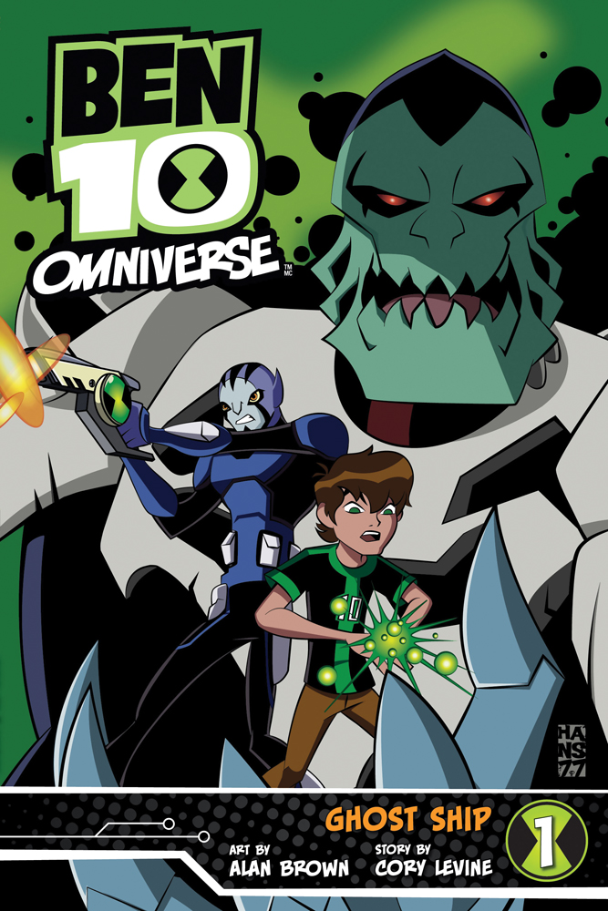 Ben 10 Omniverse: Ghost Ship Graphic Novel 1 9781421557410