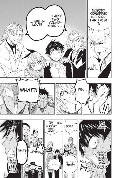 Nisekoi False Love Manga Volume 1