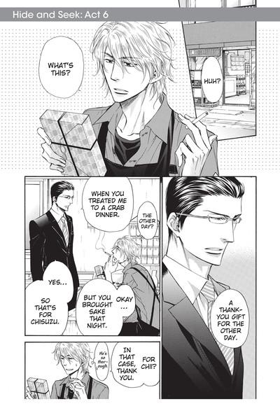 Hide and Seek Manga Volume 2