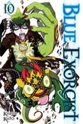 Blue Exorcist Manga Volume 10