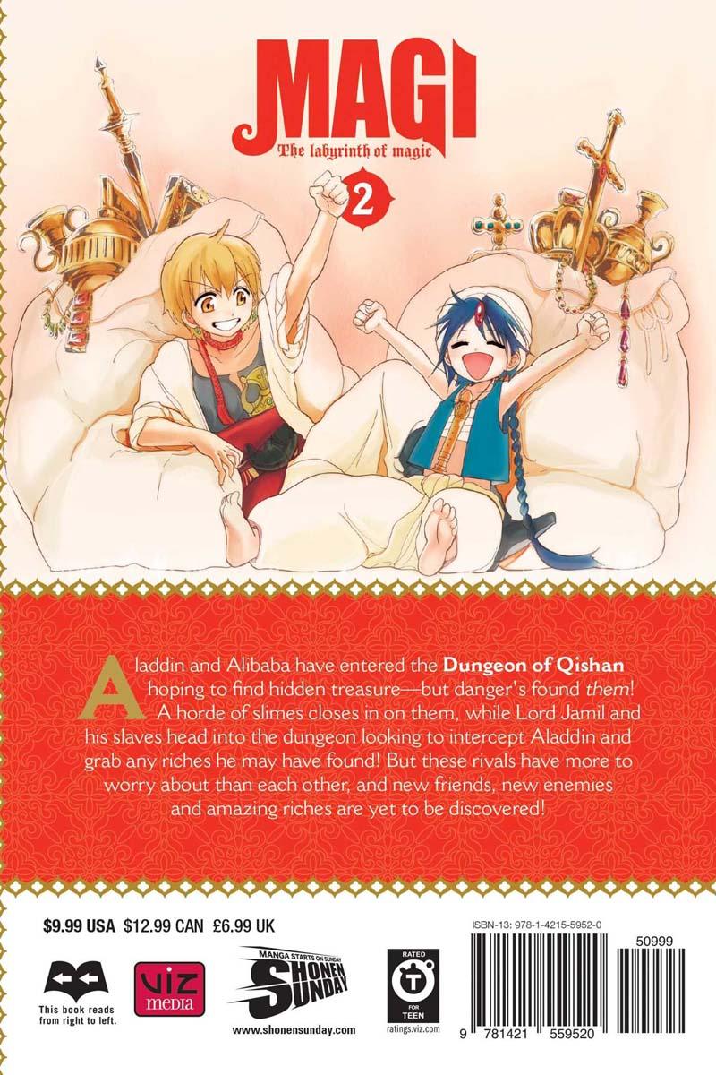 Magi Manga Volume 2