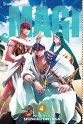 Magi Manga Volume 4