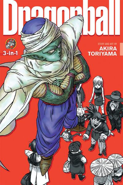 Dragon Ball 3 in 1 Edition Manga Volume 5